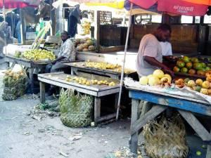 Mercato di Stone Town, capitale di Zanzibar