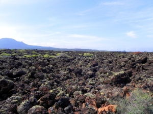 Distese di rocce laviche a Lanzarote