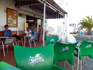 Il bar supermercato di Punta de Las Mujeres