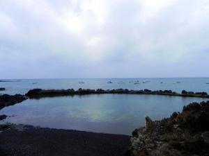 Punta Mujeres, Lanzarote: piscina naturale