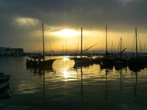 Il porto di Calasetta, Isola di Sant'Antioco - Sardegna