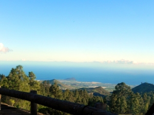 La strada sul Teide, Tenerife, Isole Canarie