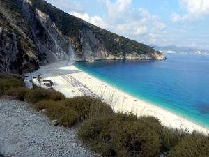 Spiaggia di Myrtos, Cefalonia, Grecia