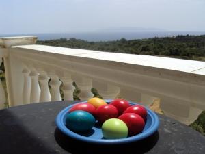 uova colorate - Pasqua ortodossa - Cefalonia