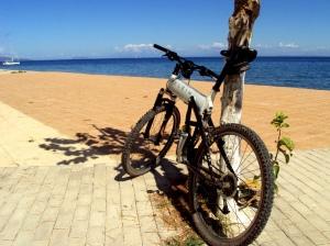 Giro in bici a Cefalonia - Poros